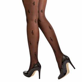 Tights with G Clefs